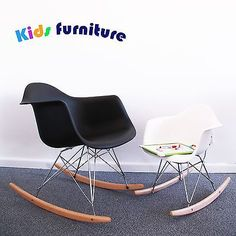 Children Eames Rocking Chair RAR Rocker Armchair Retro baby furniture