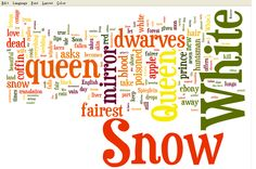 snow white word cloud | You may want to start doing your own wordle after you watch a brief ... Tagxedo, Bring It On, Let It Be, Snow White, Clouds, Watch, Disney, Clock, Snow White Pictures