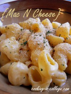 3-Ingredient Mac n Cheese for any night of the week - Cooking in College