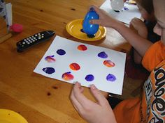 ABC's of Jess's house: Balloon painting Sensory balloons