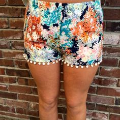 fortuityinc - Pompom Shorts, $31.00 (http://www.fortuityusa.com/pompom-shorts/)