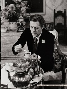 Gentleman's Tea with Marcello Mastrioanni