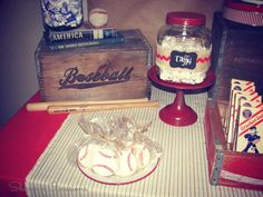 Vintage Baseball Birthday Party Ideas   Photo 15 of 28   Catch My Party