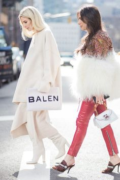 Our favourite street style moments at New York Fashion Week