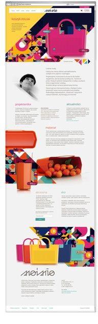 moimio by Helena Prylowska, via Behance