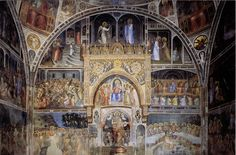 """italianartsociety: """" By Anne Leader Giusto di Giovanni de' Menabuoi died on 28 September 1390, according to a tomb inscription in Padua Baptistery, which he decorated with frescoes starting in 1375...."""