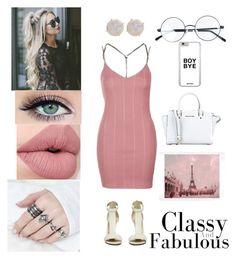 """""""👸Classy And Fabulous💅"""" by dreamerz-dream-on ❤ liked on Polyvore featuring Topshop, Melissa Joy Manning and WALL"""