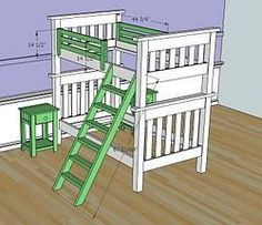 How to build Simple Bunk Bed Plans PDF woodworking plans Simple bunk bed plans Bunk beds diy free woodworking plans free projects Beds may be put up or taken down quickly by use of a simple bolted White Bunk Beds, Double Bunk Beds, Twin Bunk Beds, Kids Bunk Beds, Bunk Bed Plans, Bunk Bed Designs, White Bedroom Furniture, Diy Furniture Plans, Furniture Online