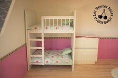 Alice Balice DIY : Maison de Barbie - lit superposé enfants