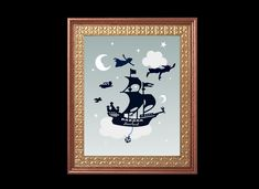 Moon Star Cloud Nursery Art Print, baby boy room decor/blue nursery/baby boy gift, nautical nurser  Love You To The Moon And Back digital art, wall hanging  ❤ - - - - - - - Details - - - - - - - ❤  ● Offering is for one print in the size selected. However, you may order as many copies as you would like. ● Professionally printed on acid free, archival photo paper with premium inks ● Available in many sizes ● Unframed and not matted  SHIPPING: All prints ship within 5 -7 business days...