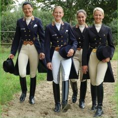 Ladies of Dressage...