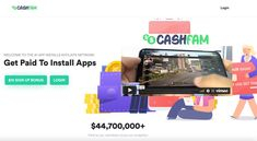 CashFam is a fake reward program, falsely offering to pay $5-$15 each time you install an app on your smartphone. Everything on the site is deceptively advertised. Fake company information, fake testimonials and reviews. You'll never get a single dime paid from it. #scamalert #makemoneyonline #makemoneyscam Make Money Online, How To Make Money, Advertising, App, Apps