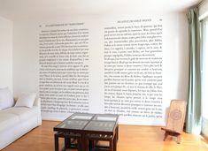 Papier peint madeleine de Proust panoramique