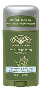 Deodorant Stick Lemongrass & Clary Sage -Nature's Gate