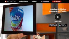 AR技術により、商品を目の前で確認できるアプリ「Augment」