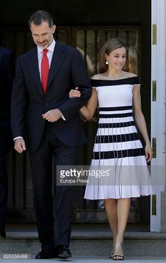 Fotografia de notícias : Queen Letizia of Spain and King Felipe of Spain...