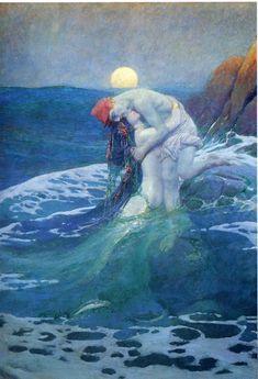 Howard Pyle | The Mermaid