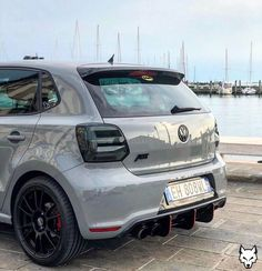 Little Beast 😱😍 Rate it from 📷   Vw Polo Modified, Modified Cars, Vw Turbo, Polo R, Hot Vw, Volkswagen Golf R, Sport Cars, Fendi, Tiguan Vw