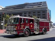 San Francisco CA FD Engine 1 American LaFrance Pumper