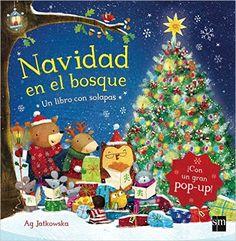 a61ba3d073931 Navidad En El Bosque  Amazon.es  Ag Jatkowska  Libros Animales Del Bosque