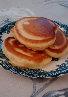These pancakes are on the top of our list of favorites. They are thicker, lighter and tastier than any I have made before. They are simple to make and keep well in the fridge. Just pop them in the toaster the next day (if there are any left!)