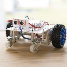 Arduino Robot Kit   Robot Kits   Robotics Kits for Kids - Maker Shed