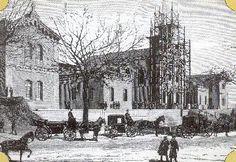 Hospital del Niño Jesús.- ( Avda. Menéndez Pelayo). - El Rey Alfonso XII inaugura este hospital en 1881. Lo había costeado una asociación para el cuidado de los niños, presidida por la Duquesa de Santoña. En el eje central se encuentra la iglesia y en las naves laterales las habitaciones del asilo y del hospital.