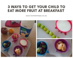 3 ways to get your child to eat more fruit at breakfast - Mamma & Bear