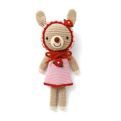 Animal Fashion Show! Clothes Changing Crochet Dolls Collection