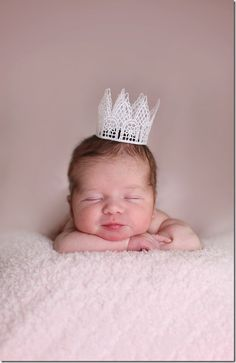 newborn princess picture