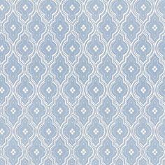 Tredje stora bilden av tapetern Viola Ljus blå