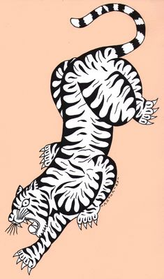 Marvelous Drawing Animals In The Zoo Ideas. Inconceivable Drawing Animals In The Zoo Ideas. Tiger Illustration, Graphic Illustration, Tiger Tattoo, Cat Tattoo, Shark Tattoos, Traditional Tattoo Old School, Tatuaje Old School, Tiger Art, Tiger Tiger