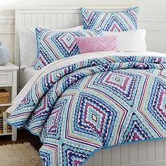 Kaleidoscope Quilt Quilt + Sham #pbteen