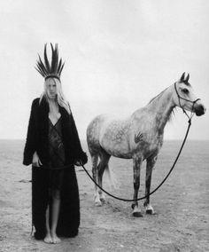 …. horse & heroine ….