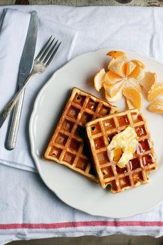eggnog waffles // brooklyn supper