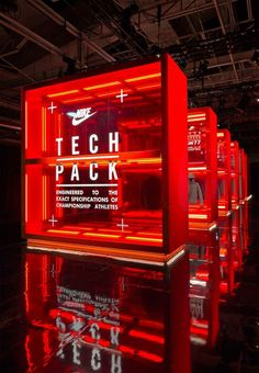 brilliant #retail displays from nike