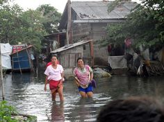 Bekasi residents wade through the flood waters. Our partner on the ground, GERHATI, which Five Talents helped to found in 2005, recently sent us photos of their efforts to aid local Bekasi residents. These pictures offer a glimpse into an under-served community that's desperately in need of basic financial services and training that can empower micro-entrepreneurs and equip them for success.