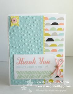 stampinup sweet sorbet accessory pack | Sweet Sorbet Thank You