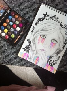 Makeup on paper