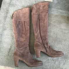 6xhp Gorgeous Sexy Suede Tall Otk Boots!