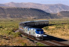 RailPictures.Net Photo: AMTK 183 Amtrak GE P42DC at Rock Springs, Wyoming by Ryan S.