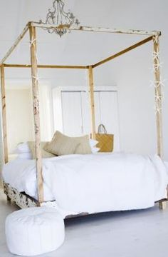 How To Build A Canopy Bed Frame