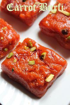 YUMMY TUMMY: Carrot Burfi Recipe / Gajar Ki Burfi Recipe