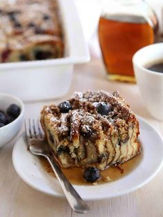 Blueberry pancake bake for mothers day or any delicious morning!