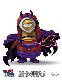 Magneto. minions, days of future past, x-men