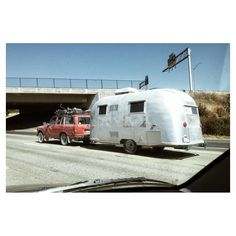 So much good, all at once.  #airstream #landcruiser #fj60 #fj62 #airstreamclassics #liveriveted