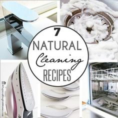 I have shared a lot of natural cleaning recipes  since I started my blog, so I thought it was time I brought some of my favorites togethe...