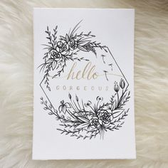 bulletjournal Emiko Woods Tuschemalerei What Bullet Journal Month, Bullet Journal Ideas Pages, Bullet Journal Inspiration, Wreath Drawing, Floral Drawing, Floral Illustrations, Ink Painting, Flower Tattoos, Doodle Art