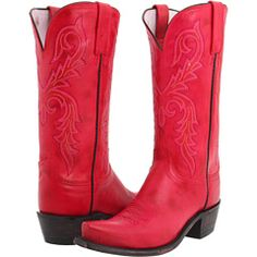 Because if I am going to get some cowboy boots, they at least better be loud and ridiculous.