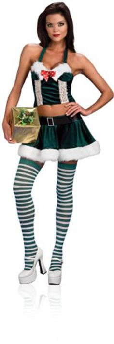 c49a4066e9 Sexy Santa Holly Helper Christmas Adult Costume